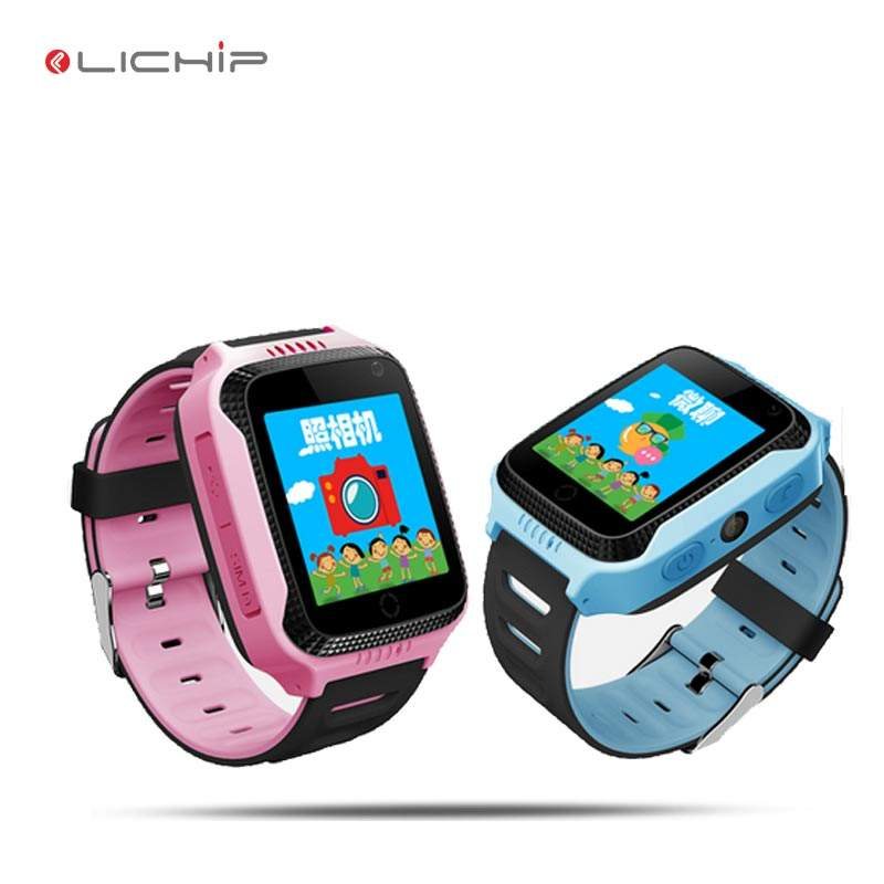 LICIHP L326 Kids gps smart wrist watch tracker Q529 q528 q50 q90 q60 smartwatch children baby phone for kid with light lamp came