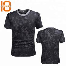 Men Breathable Outdoor Military Camouflage Summer Short Sleeve T Shirt Army Tactical Combat T Shirt