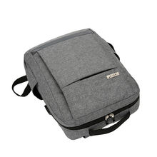 Foldable polyester schoolbag business backpack bag