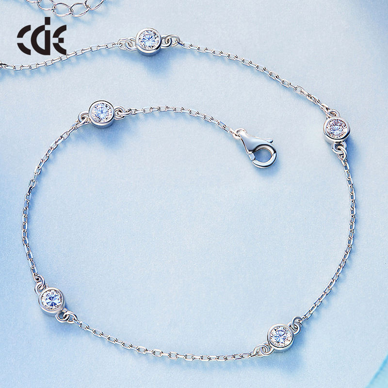 New Design Foot Jewelry Custom 925 Sterling Silver Anklet