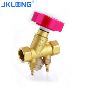 forged Brass static hydraulic pressure relief superior brass Water balance valve