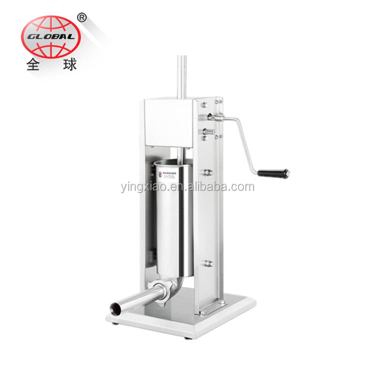 Zhejiang yingxiao professional oManual sausage stuffer /make sausage machine/sausage filler VS-7L