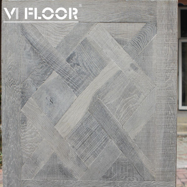 Hand Made Floating Grey Parquet Flooring