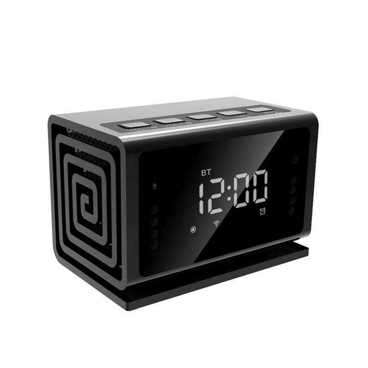 Clock Hidden Camera WiFi HD 1080P Mini Alarm Desk Clock Camera Live Video Viewing or Playback Home Security System