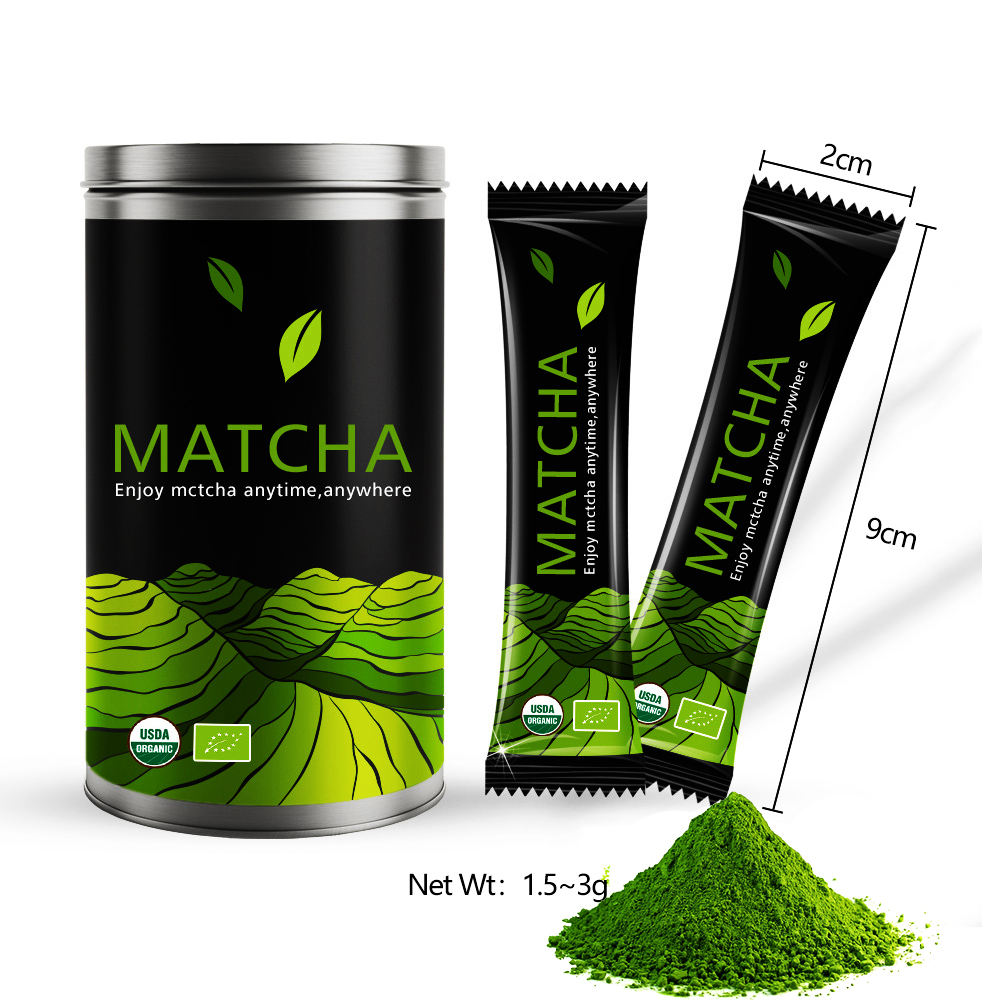 Premium Flavoured Original Japanese Professional Supplier Organic Matcha 2000mesh China Green Tea Powder