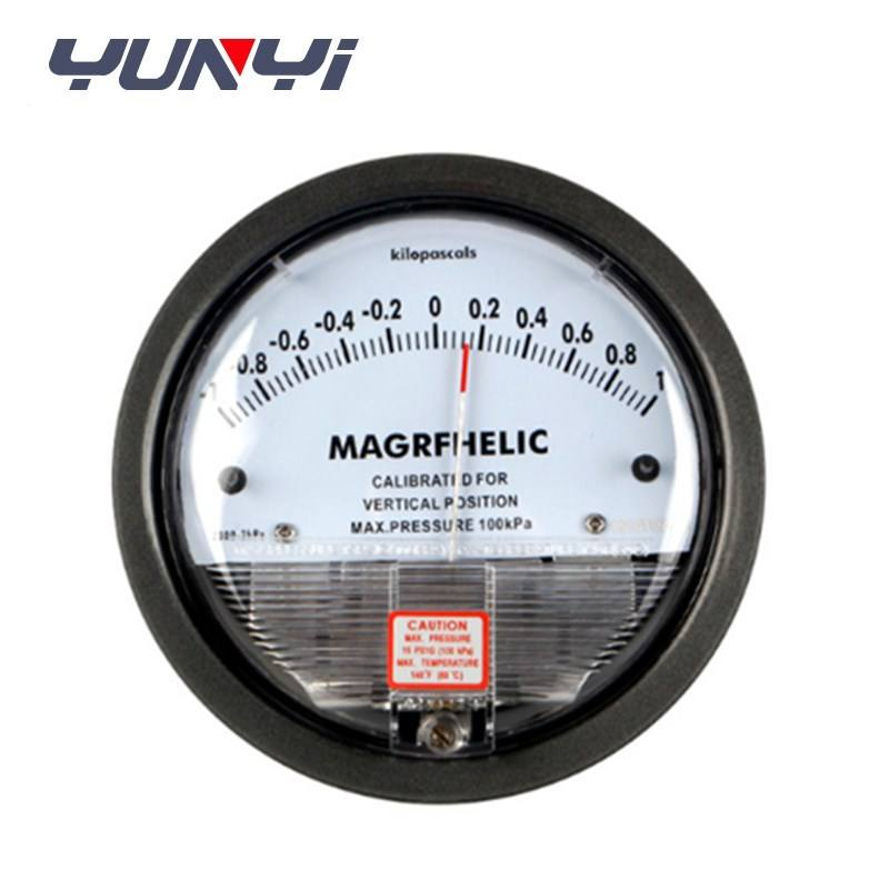 micro air differential pressure meter manometer gauge