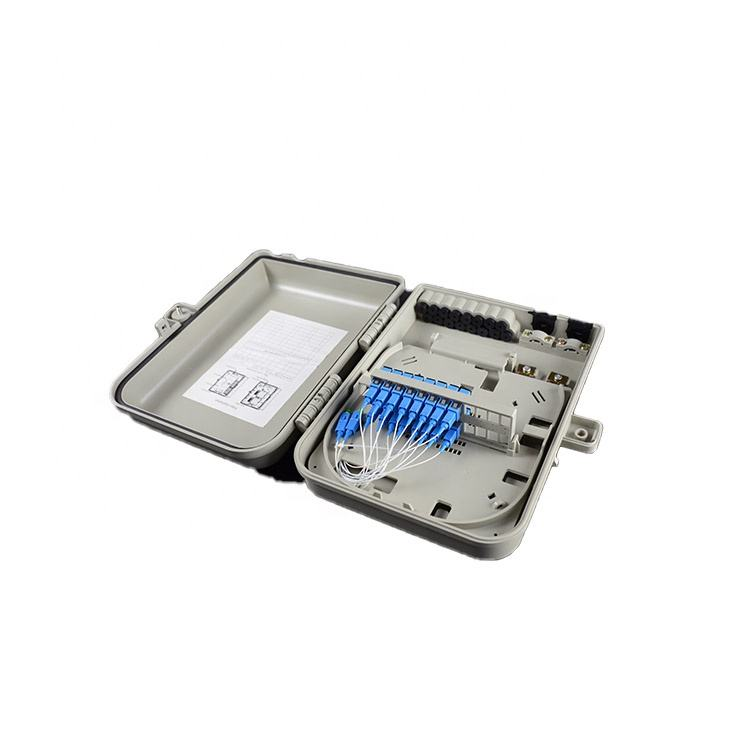 FTTH 4,6,8,12,16,24 ports outdoor fiber optic terminal distribution box