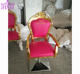 2020 Hottest antique styled salon beauty chairs / pink styling chairs