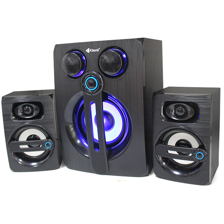2.1 Sistema Home Theater Senza Fili Blue tooth 4.2 Tv Sound <span class=keywords><strong>Bar</strong></span> USB Con La carta di Subwoofer