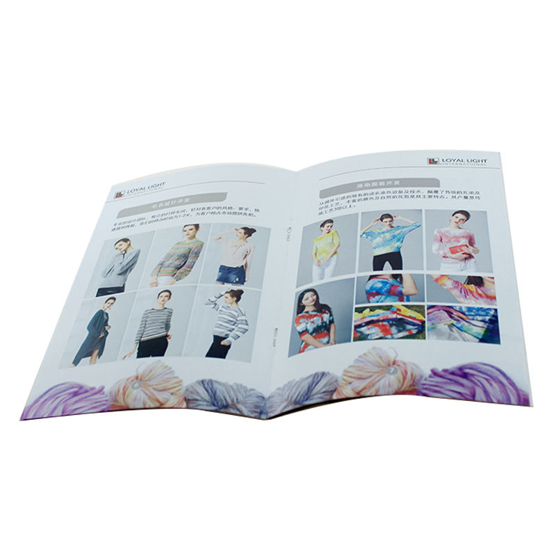 Fancy Custom Design Printing Brochure,Booklet