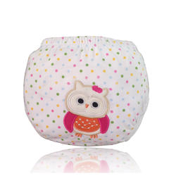 100% Cotton Cute patterns Cartoon patterns Baby Potty Training Pants  Training Underwear