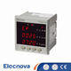 Multimeter [ Digital Multimeter ] Digital Multimeter Price Elecnova PD194E-3S4 83*83mm Led Display 3 Phase 4 Wire Digital Voltmeter Ammeter Multimeter