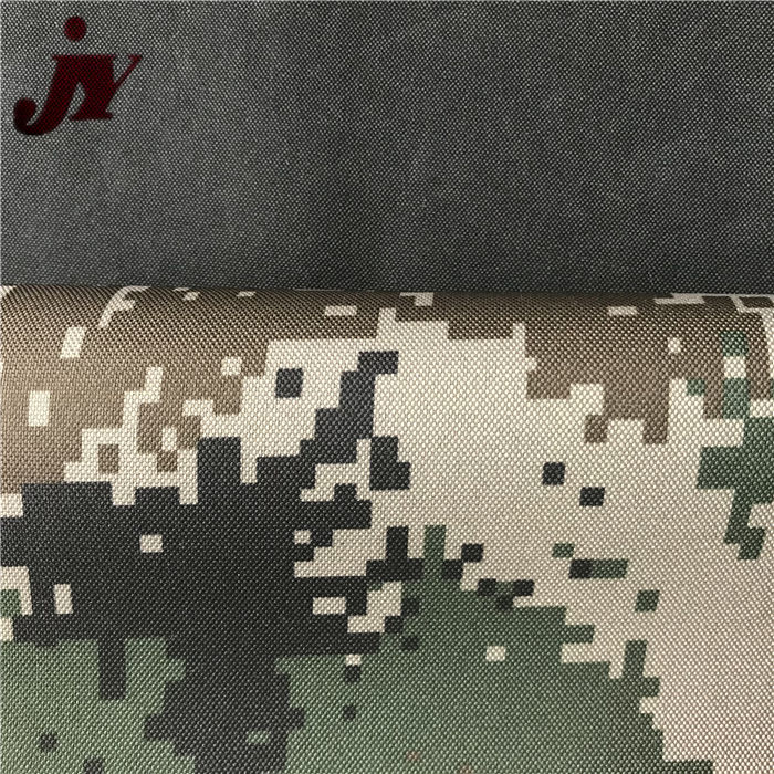 Tongxiang Qinyi Hot sale China Factory camouflage military printed 600d polyester fabric for bags