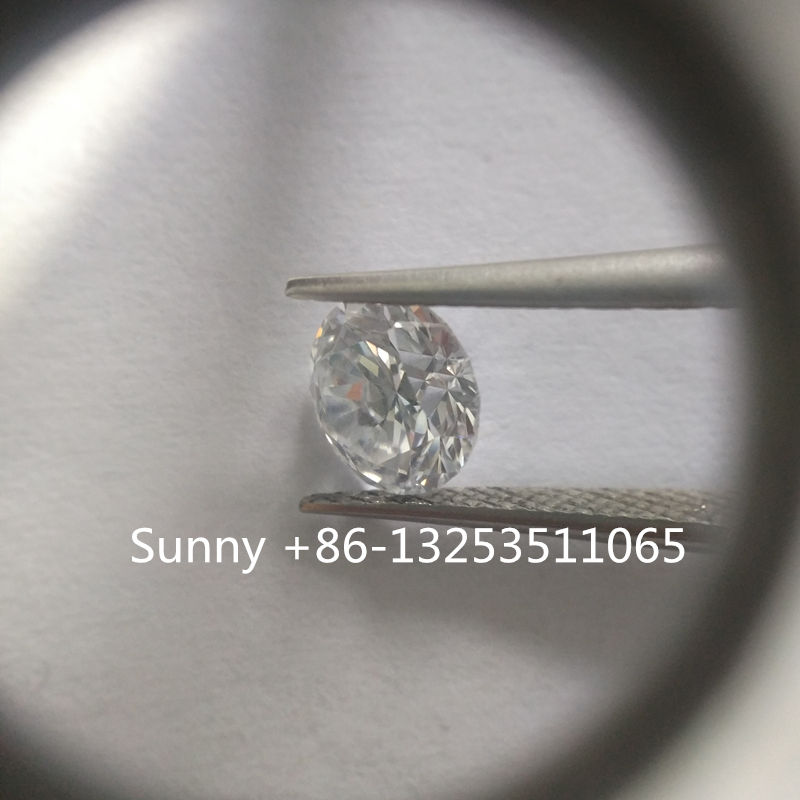 Factory 1carat up big size polished diamond VS and SI clarity HPHT lab grown diamond for sale