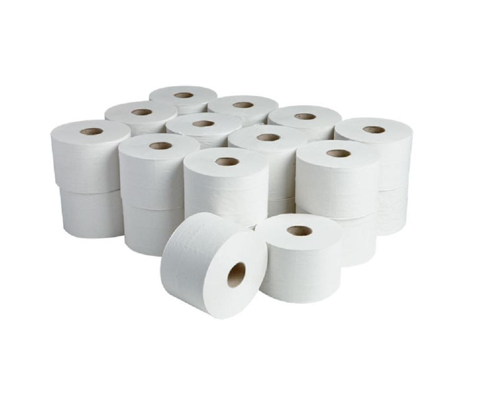 New Products High quality 4Ply bamboo fiber natual paper rolls toilet tissue paper