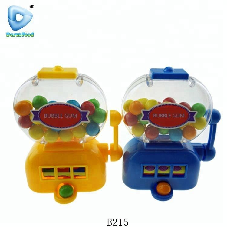 Small vending machine bubble gum ball slot machine Jackpot toys
