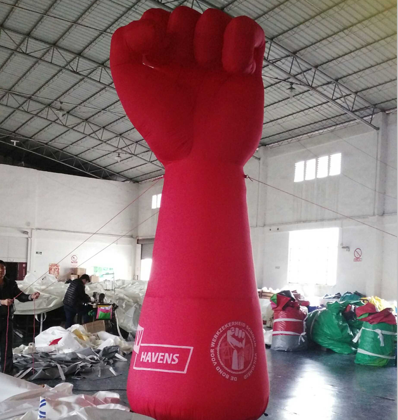 promotional the giant inflatable fist balloon,Arm and Hands Inflatables