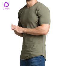 2020 OEM Muscle Fit mens 94%polyester 6% spandex T Shirt Tri-Blend pursue fitness gym shirt