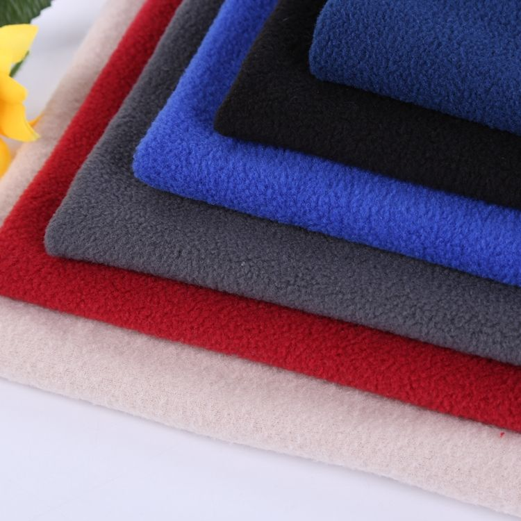 China cheap polar fleece fabric wholesale antipill polar fleece fabric