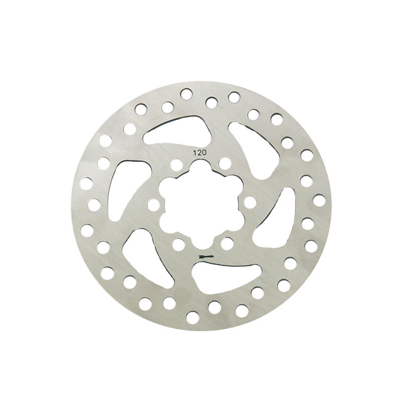 GOOFIT Bicycle motorcycle Disc 120mm Disc Rotor Brake Rotors 6-Bolt mounting For EBikes Mountain Bike And Sports Bike