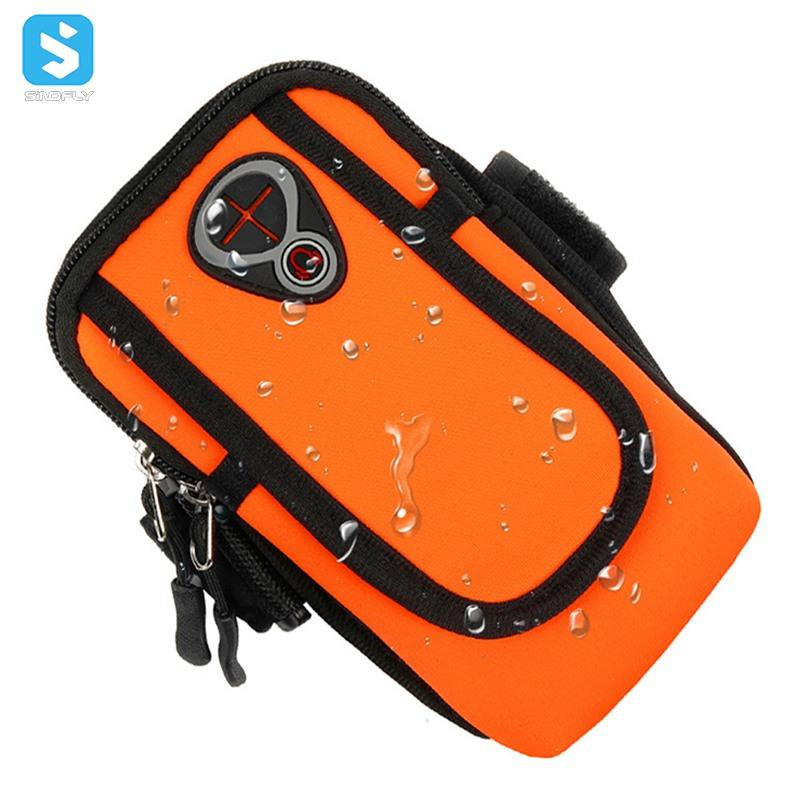 Mobile Phone Accessories Neoprene Sport Armband For Cell Phone Arm Band Mini Sport Bag