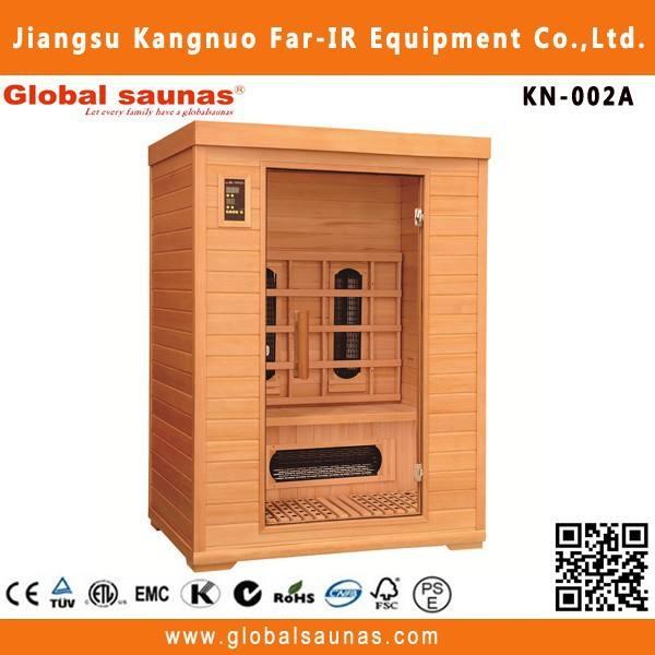 Palestra con sauna a vapore kn-002a spa sauna a raggi infrarossi
