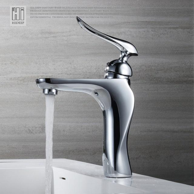 bathroom mixer Basin faucets basin was hot and cold water taps full copper basin faucet