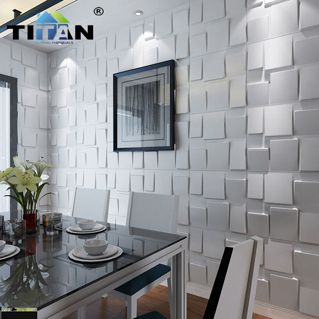 waterproof pvc 3d ceiling decorative 3d panel pvc wall panels for bedroom tv background faux leather wall panels