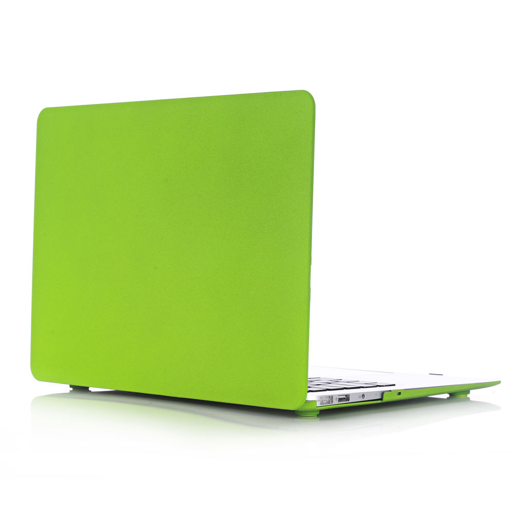 Laptop quicksand green case for Macbook top case a1181 a1278