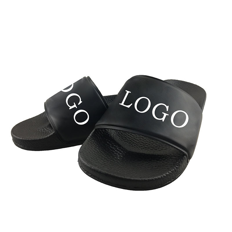 High quality home custom made printing slide slippers