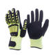 Hi Viz Mechanics Gloves Custom Logo Rig Impact Gloves Oilfield TPR Impact Gloves for Oil And Gas