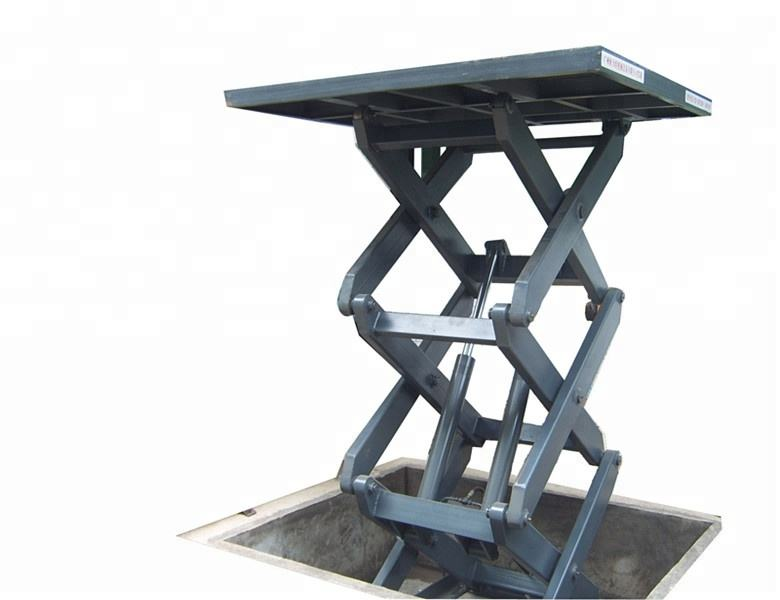 Hydraulic scissor lifts stationary scissor lift in floor scissor lift WLG2.0-5