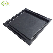High-grade black electronic product packaging inner paper pulp trays