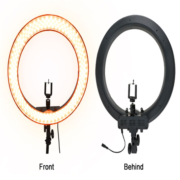 Fotografie Dimbare Ring Lamp Met 200 cm <span class=keywords><strong>Statief</strong></span> <span class=keywords><strong>Camera</strong></span> Photo Studio Telefoon <span class=keywords><strong>Video</strong></span> 18 inch 55 w 240 stks LED ring Licht 5500 k