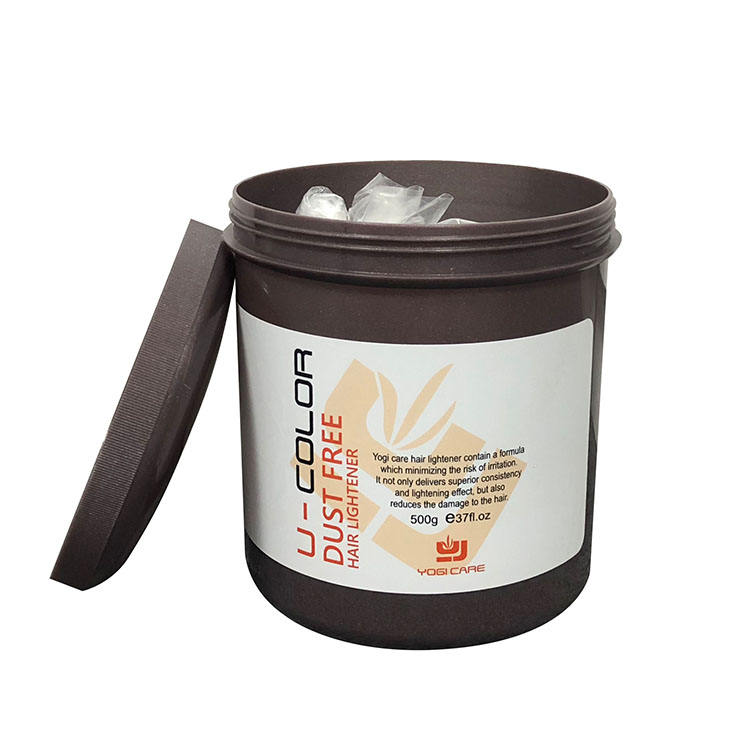 professional hair lightener bleach powder for hair without damage