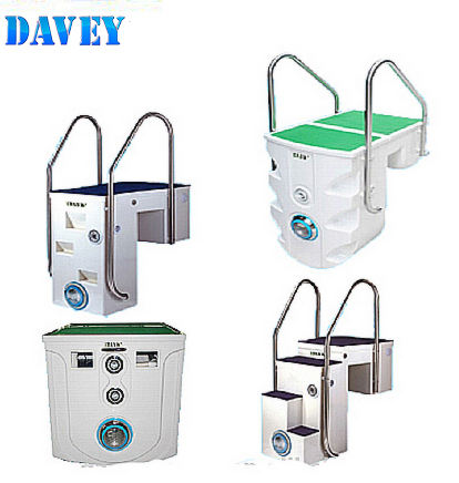 Davey pipeless filtro integrado para casa piscina