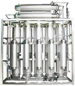 100-6000lph Industrial distillation/distilled steam water equipment for injection