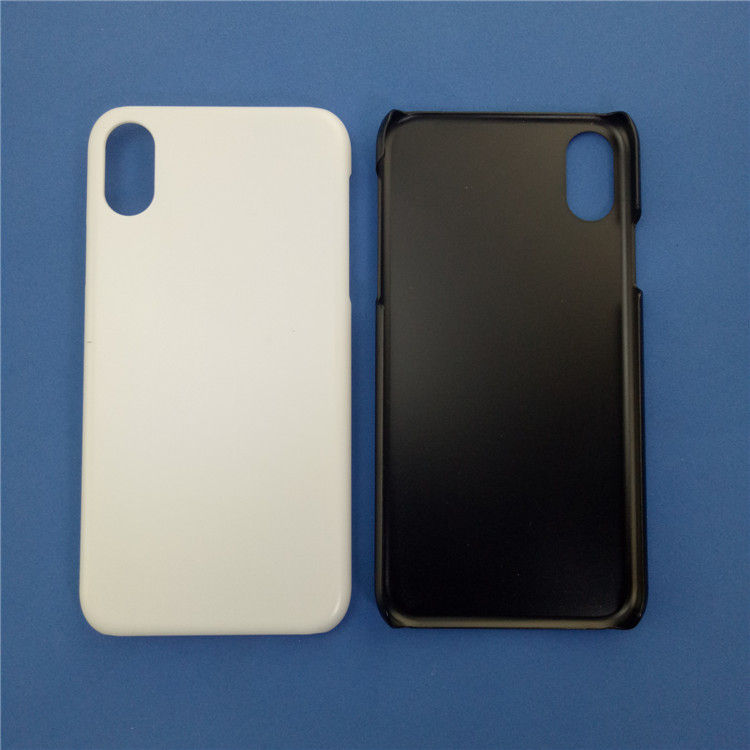 Plain hard plastic phone cases For iphone 8