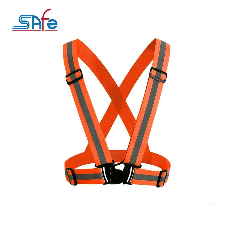 Different sizes safety reflective vest belt for sale