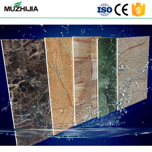 Factory Supplier interior wall decoration 1220*2440mm PVC Marble sheet