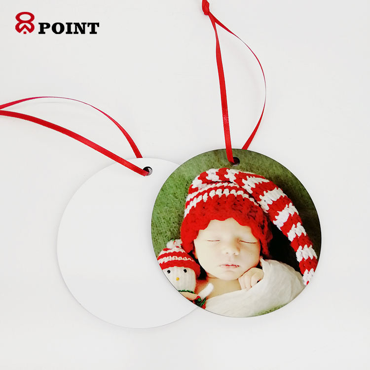 Christmas wooden MDF sublimation blank hanging ornament