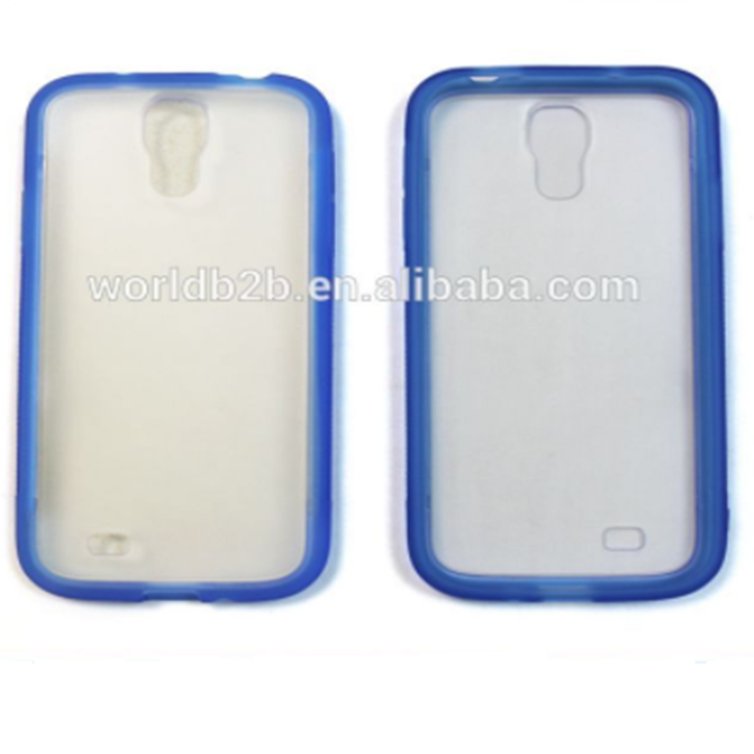 2 in1 TPU + PC étui Rigide pour Samsung Galaxy S4 i9500, TPU + Mat PC 2 in1 conception