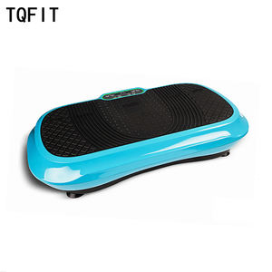 TQFIT Fitness Equipment Ultrathin Vibration Plate Manual Mini Vibration Plate, power fit vibration board