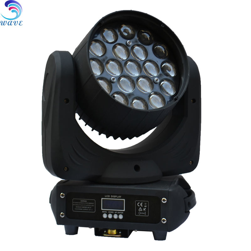 19*10 w rgbw moving head 4in1 led zoom moving head voor club