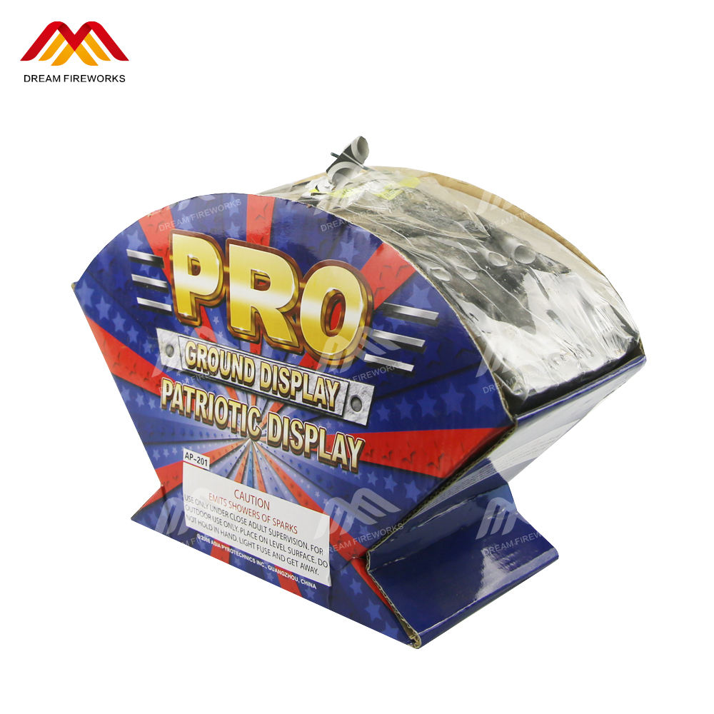 CE high quality 100 shots cake fireworks 1.3G UN0335 for display show fireworks