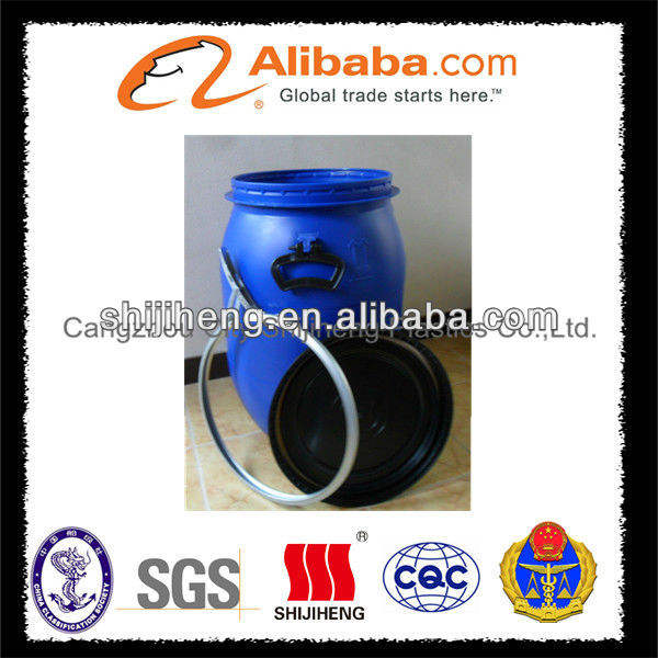 HDPE open top plastic pail