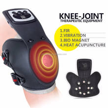Infrared and magnetic care the knee Pain relief laser therapeutic
