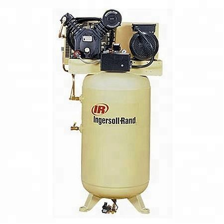 Ingersoll Rand 2545N10/12 two Stage Electrical Reciprocating piston Air Compressor T30 12barg Vertical tank