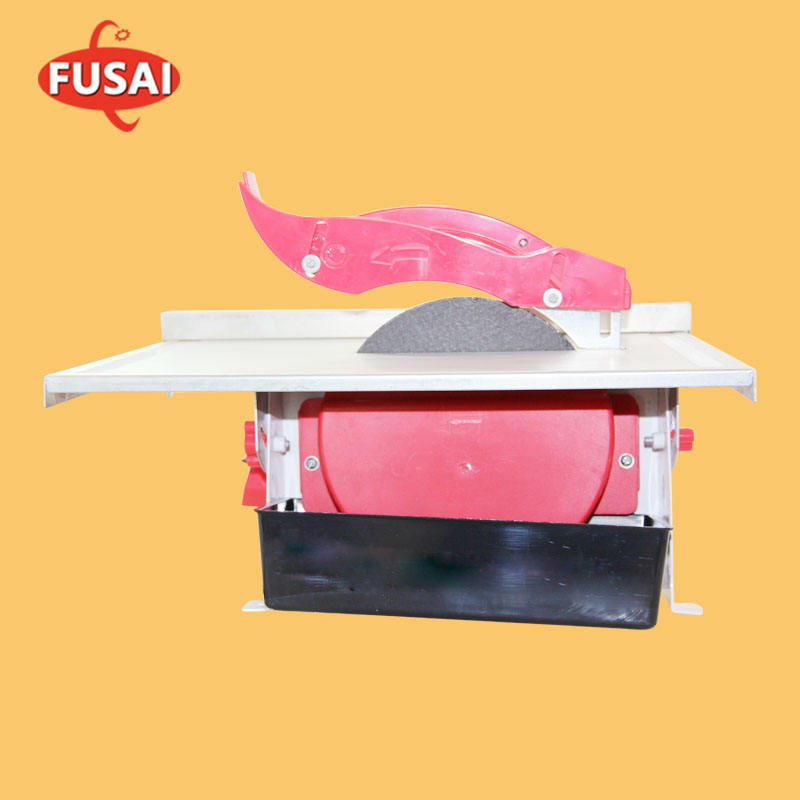 600W Fusai Electric water jet table saw cutting Machine wet tile cutter
