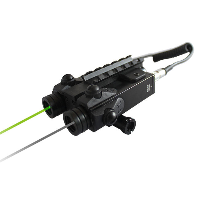LASERSPEED Infrared and Green Dual Beam Laser Sight for AR15